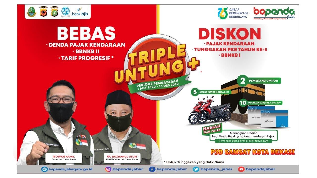 Program Triple Untung Plus di Samsat Bekasi Diperpanjang ...
